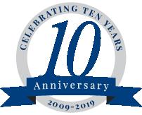 10th Anniversary Badge