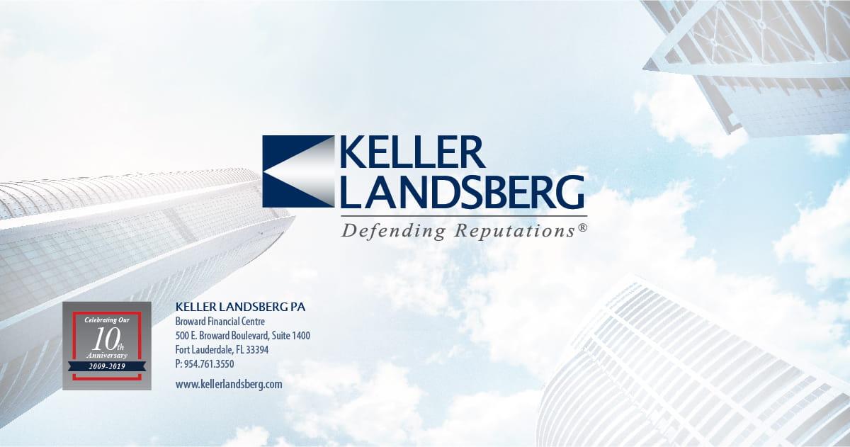 D David Keller Florida Attorney Keller Landsberg PA